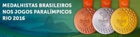 Medalhistas brasileiros nos Jogos Paralímpicos Rio 2016