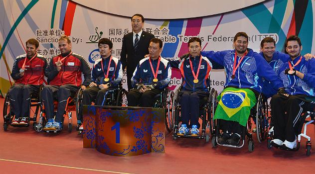 9a26dfe30b50b Tênis de mesa  medalhistas no Mundial Paraolímpico querem repetir ...