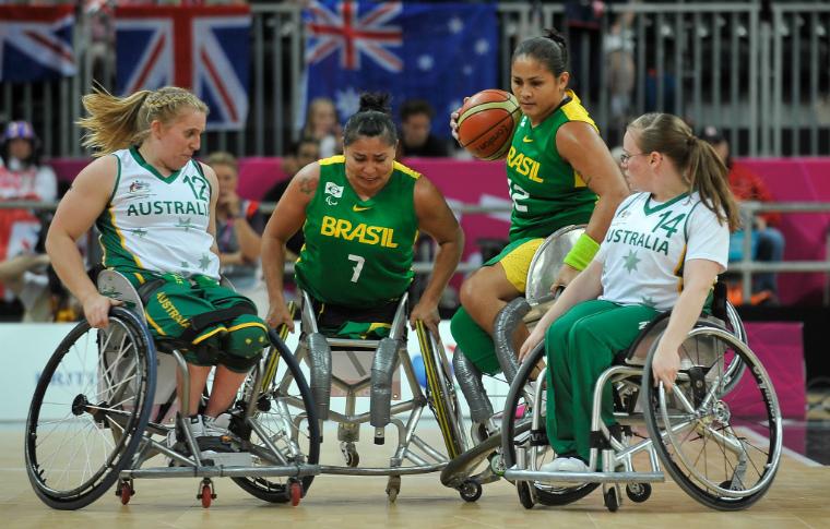 6a6520f9f Basquete em cadeira de rodas — Rede do Esporte