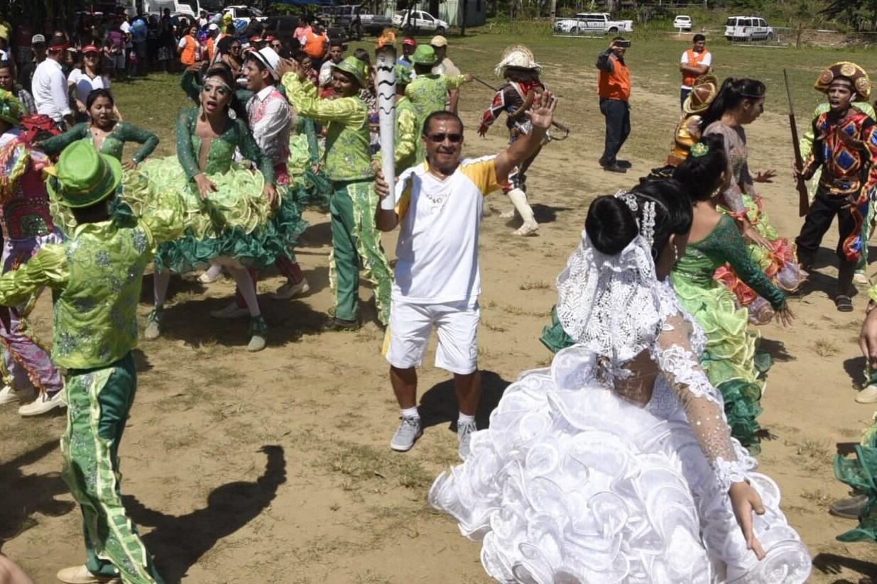 24fd826907 Tocha foi recepcionada por quadrilha junina em Porto Velho