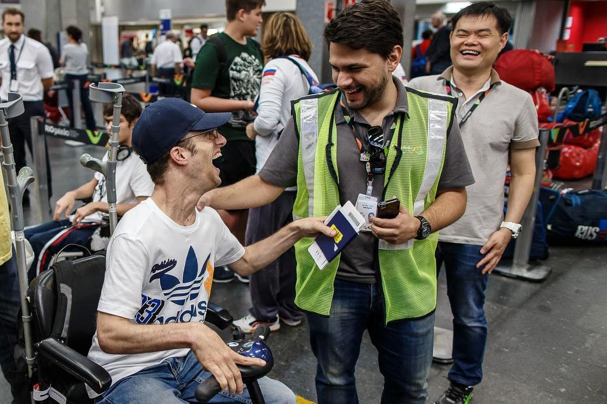Resultado de imagem para cadeirantes atletas galeao