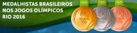 Todos os medalhistas brasileiros nos Jogos Olímpicos Rio 2016