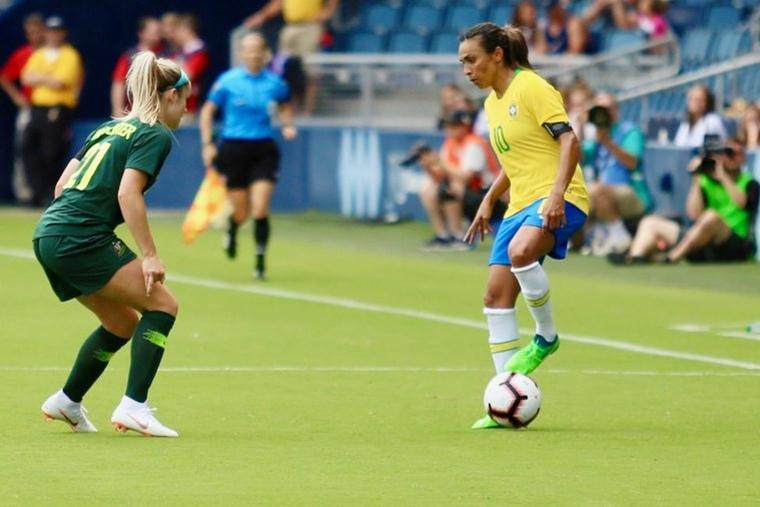 82bb0eaca9 Brasil estreia contra a Jamaica na Copa do Mundo 2019 de Futebol ...